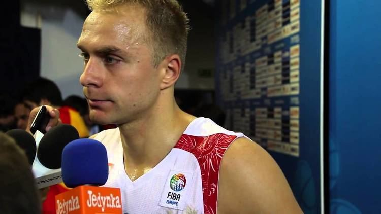 Łukasz Koszarek EuroBasket ukasz Koszarek po meczu Hiszpania Polska 08092013
