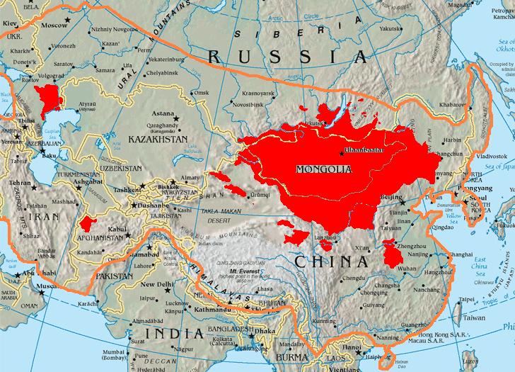 Ulan Bator in the past, History of Ulan Bator