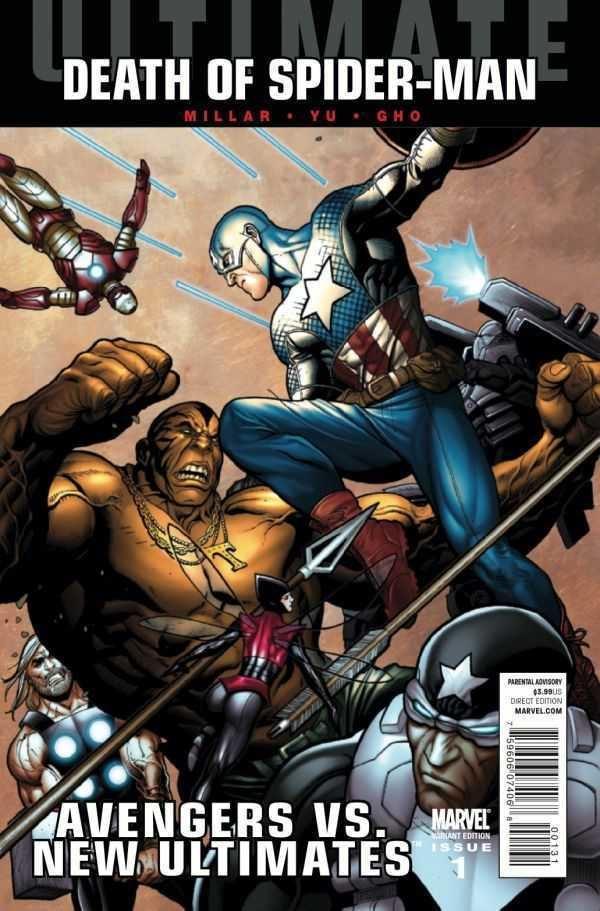 Ultimate Comics: Avengers Review Ultimate Comics Avengers vs New Ultimates