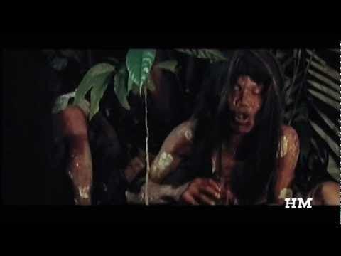 Ultimo mondo cannibale ULTIMO MONDO CANNIBALE Indigena mangiata Ruggero Deodato 1977