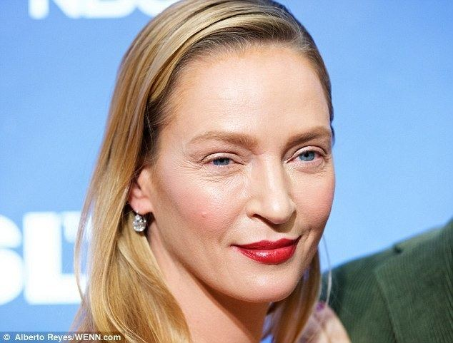 Uma Thurman What has Uma Thurman done to her face Daily Mail Online