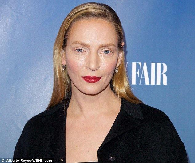 Uma Thurman Uma Thurman blames new face on an experimental beauty look