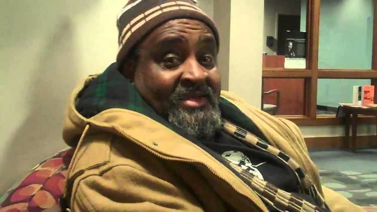 Umar Bin Hassan Tasleem Jamila with Umar bin Hassan of The Last Poets