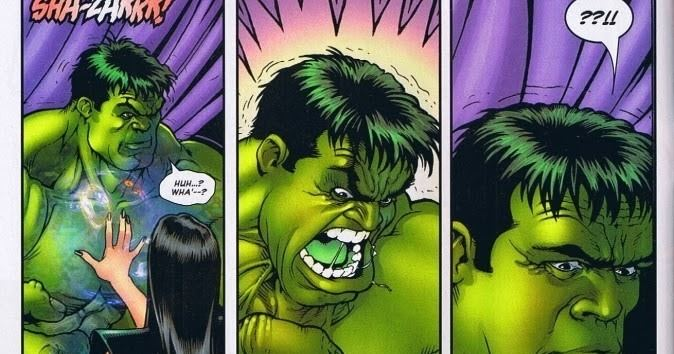 Umar (Marvel Comics) The Great Comic Book Heroes A shocking scene between the Hulk and