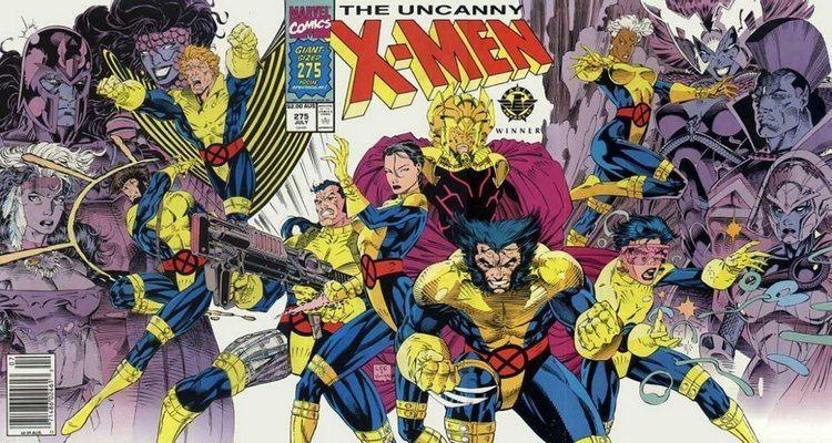 Uncanny X-Men The Uncanny XMen 275 Marvel Comics ComicBookRealmcom