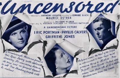 Uncensored (film) movie poster