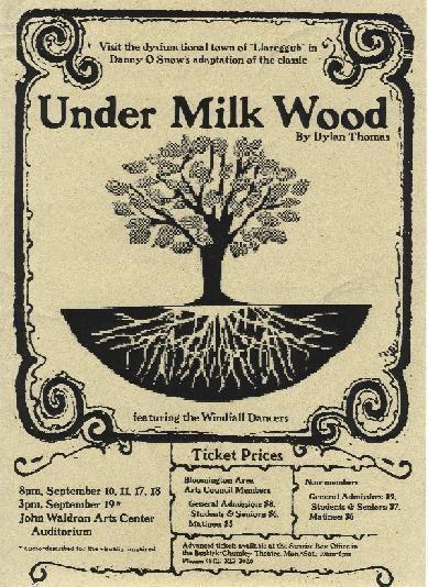 Under Milk Wood wwwarchorgimagesumwflyerjpg