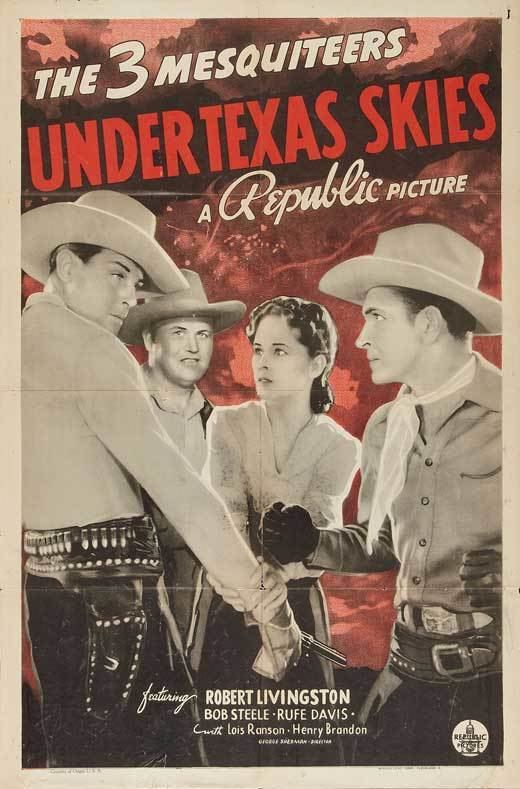 Under Texas Skies Movie Posters From Movie Poster Shop