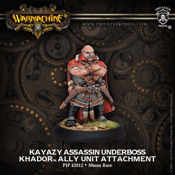 Underboss Kayazy Assassin Underboss Privateer Press