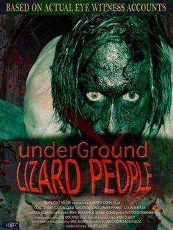 Underground Lizard People movie poster
