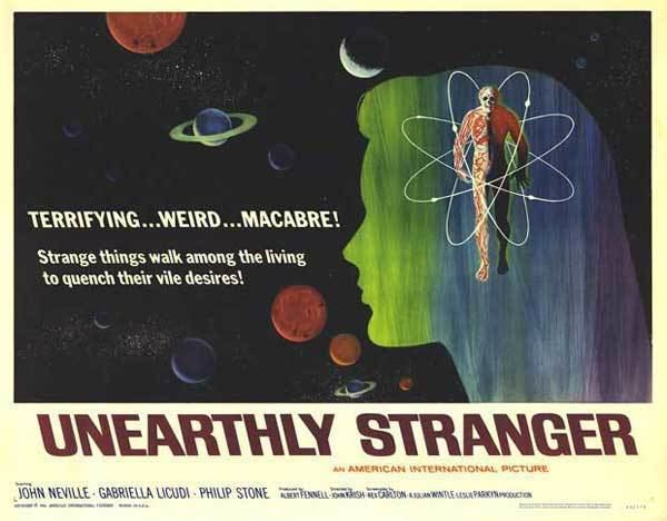 Unearthly Stranger Unearthly Stranger 1963 REVIEW The Spooky Isles
