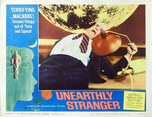Unearthly Stranger Unearthly Stranger 1964 A Brief Encounter of the British scifi