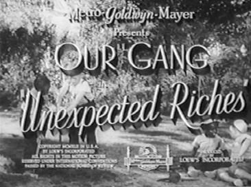 Unexpected Riches movie poster