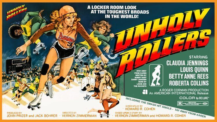 Unholy Rollers 1972 Spanish VHS Trailer Color 215 mins YouTube