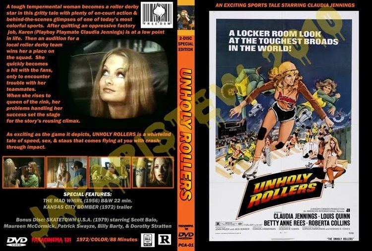 JafariStew CUSTOM DVD COVERS PART 5 UNHOLY ROLLERS PC131
