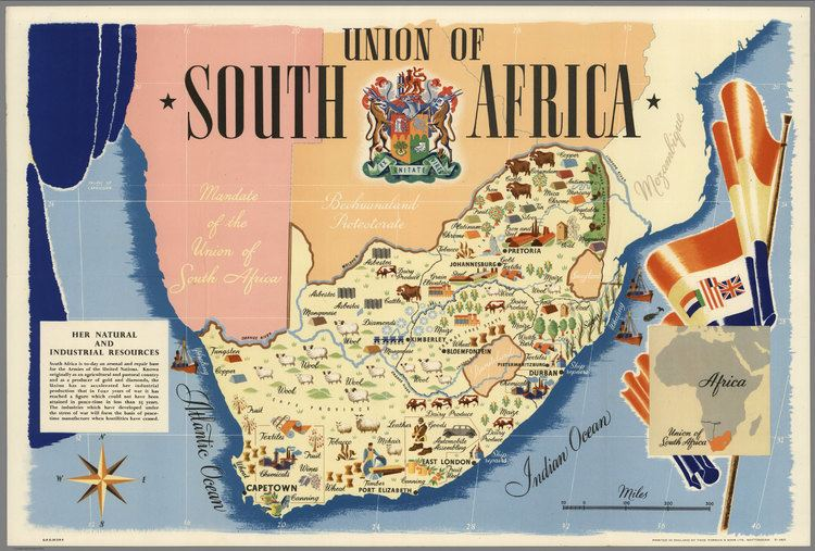 Union of South Africa Union of South Africa Printed in England by Thos Forman Sons Ltd