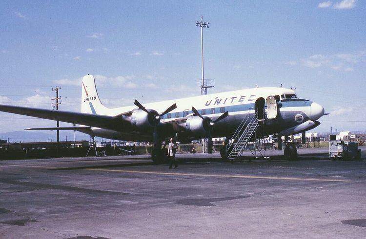 United Airlines Flight 608