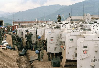United Nations Protection Force United Nations Photo United Nations Protection Force UNPROFOR