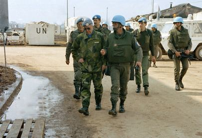 United Nations Protection Force United Nations Photo