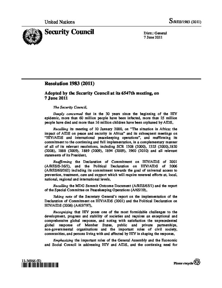 United Nations Security Council resolution wwwunaidsorgsitesdefaultfilesstylesdocument