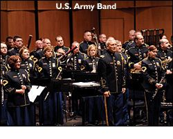 United States Army Band Schedule of Events and Performances Concerts from the Library of