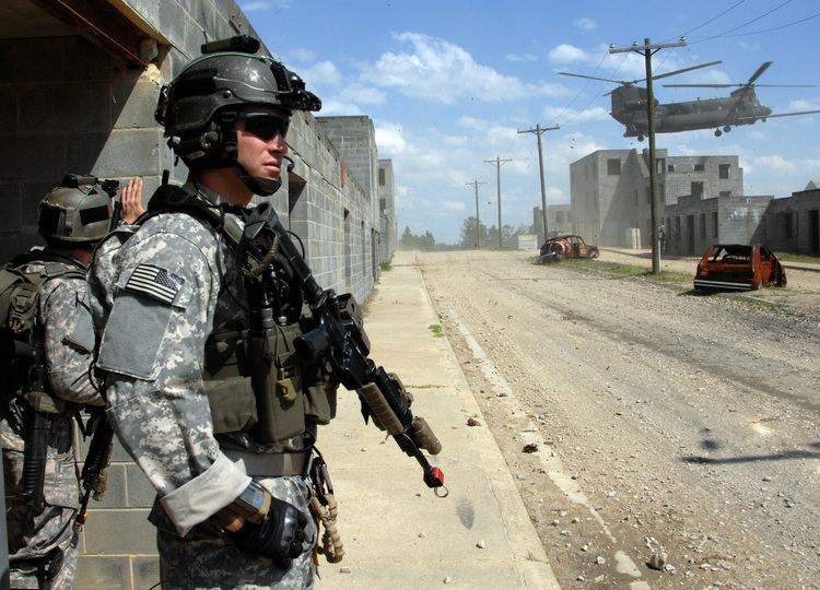 United States Army Rangers FileRanger MOUT exercisejpg Wikimedia Commons