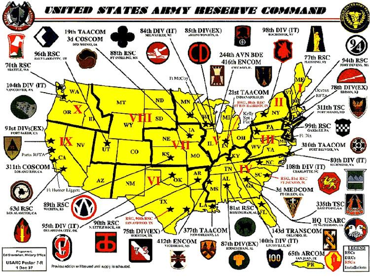 United States Army Reserve US Army Reserve Command USARC