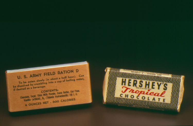 United States military chocolate Hershey Community Archives Ration D Bars