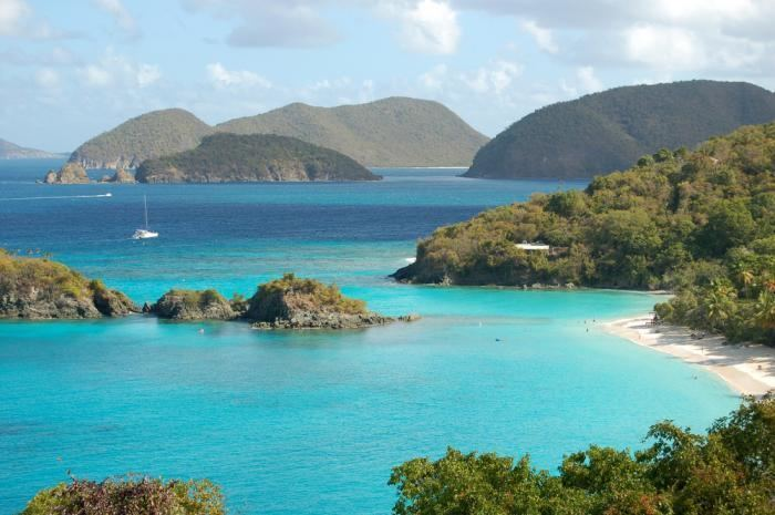 United States Virgin Islands Beautiful Landscapes of United States Virgin Islands
