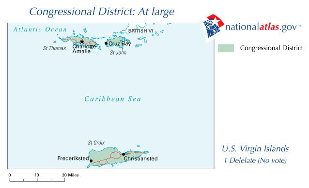 United States Virgin Islands's at-large congressional district
