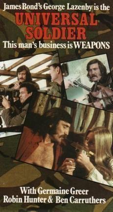 Universal Soldier (1971 film) movie poster