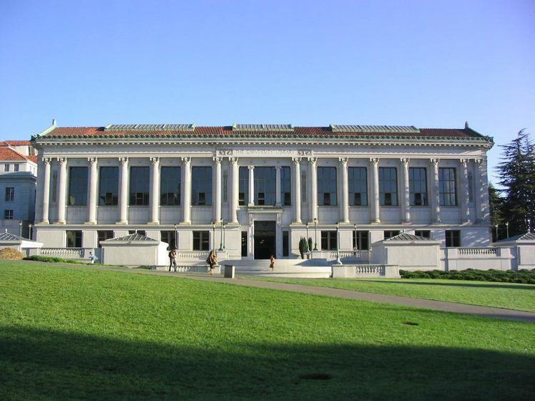 University of California, Berkeley Libraries