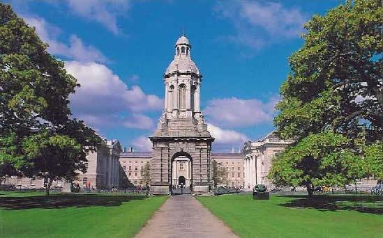 University of Dublin Hamilton Scholars School of Mathematics Trinity College Dublin