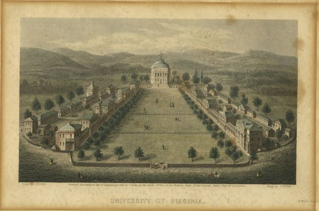 University of Virginia in the past, History of University of Virginia
