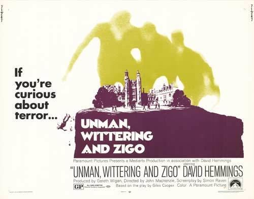 Unman, Wittering and Zigo Unman Wittering and Zigo movie posters at movie poster warehouse