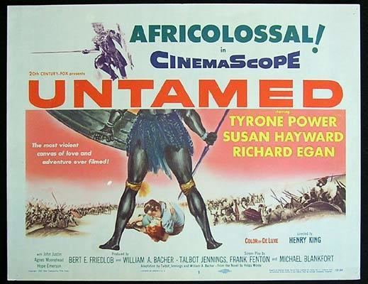 Movie for a Sunday afternoon Untamed 1955
