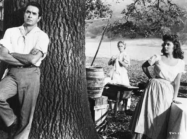 Julie Reviews Tyrone Power in Untamed 1955