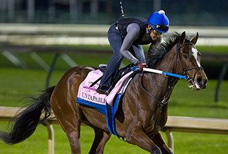 Untapable Untapable draws outside post as 45 favorite for Oaks Daily Racing