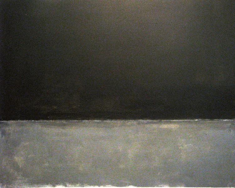 Untitled (Black on Grey) Mark Rothko Untitled Black on Grey 1970 ekenitr Flickr