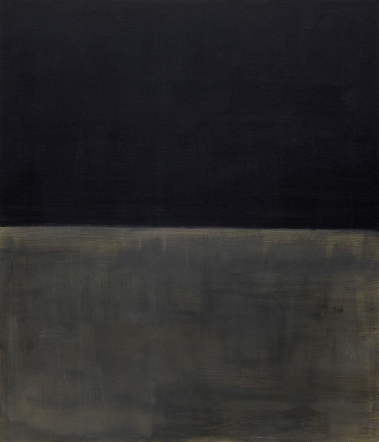 Untitled (Black on Grey) Mark Rothko Untitled Black on Gray Solomon R Guggenheim
