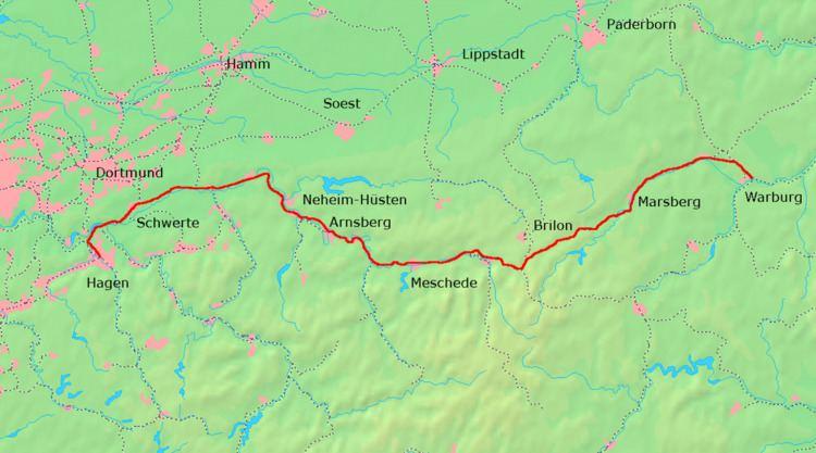 Upper Ruhr Valley Railway