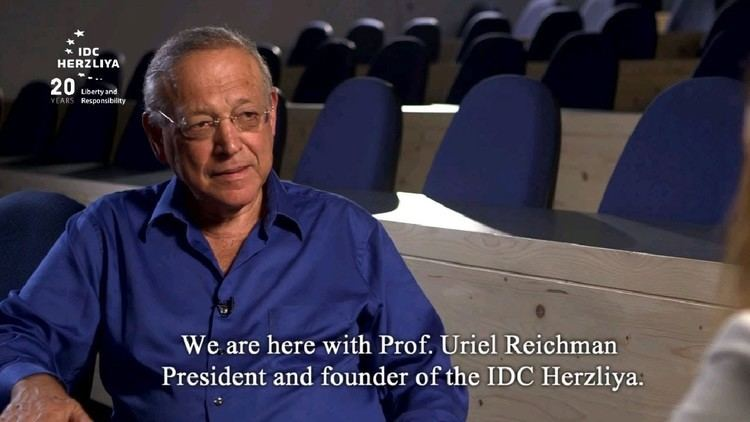 Uriel Reichman A special interview held by Avantgarde the IDC Magazine with Prof