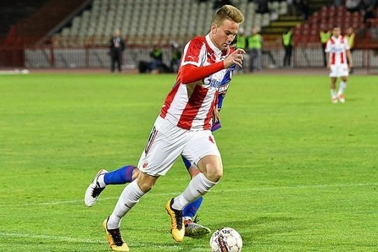 Uroš Račić FK Crvena zvezda Vesti