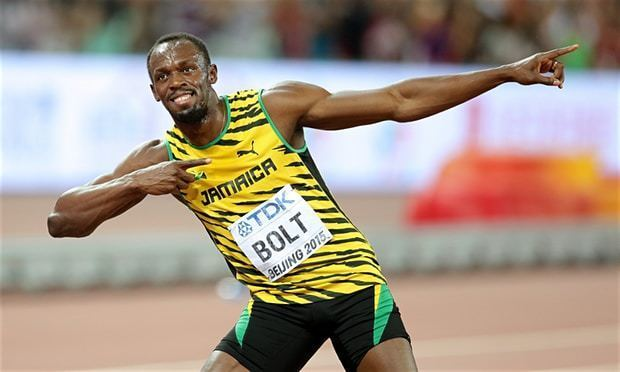 Usain Bolt Usain Bolt beats Justin Gatlin to 100m gold in 39clash of