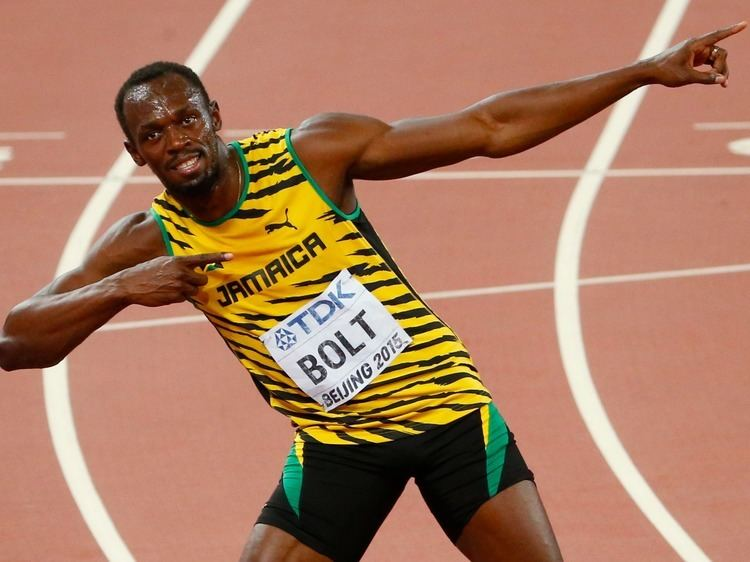Usain Bolt Usain Bolt wins 100m world championships Business Insider
