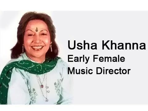 Usha Khanna 100 Years Of Bollywood Usha Khanna Early Female Music