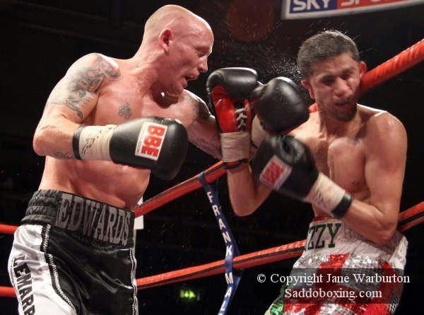 Usman Ahmed Ringside Boxing Report Chris Edwards vs Usman Ahmed II