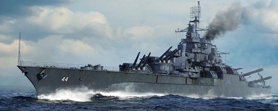 USS California (BB-44) USS California BB44 1945 057841700 SeriesTRUMPETERchina
