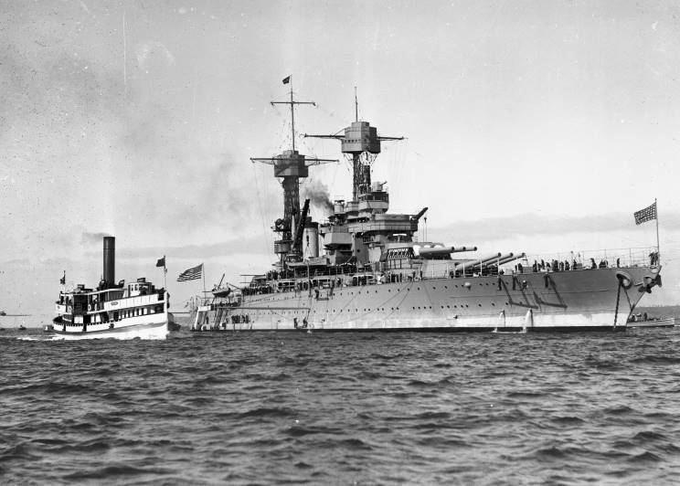 USS California (BB-44) MaritimeQuest USS California BB44 Page 2