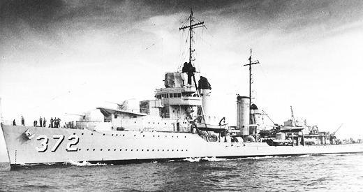 USS Cassin (DD-372) HyperWar USS Cassin DD372